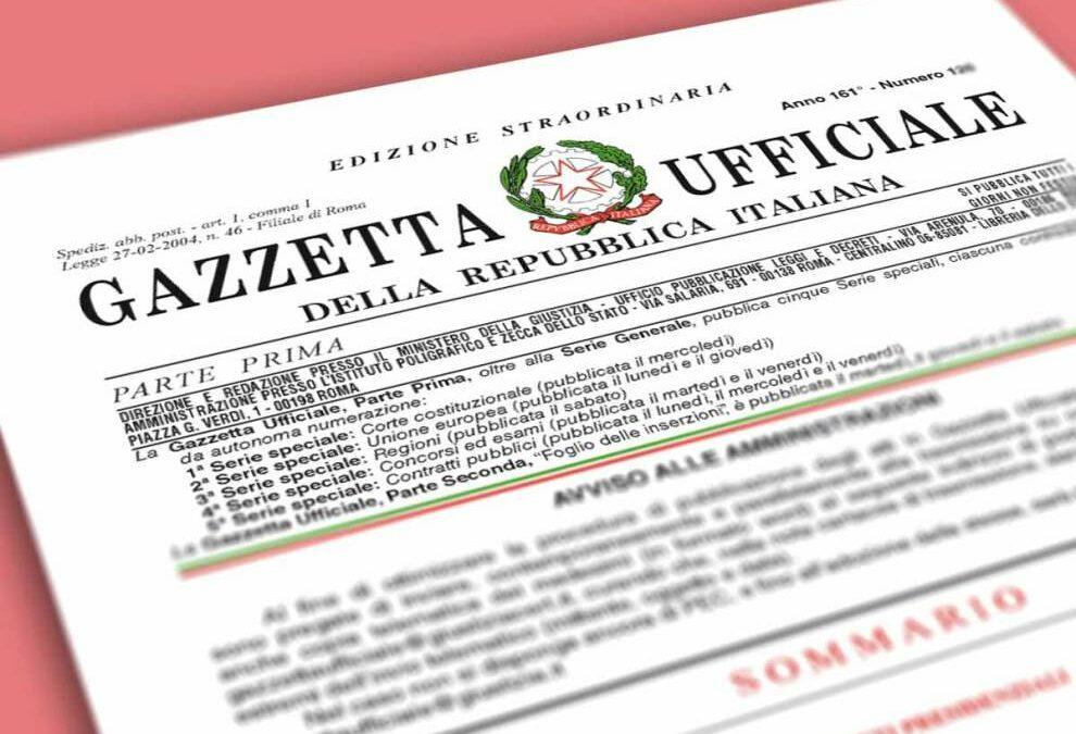 Decreto del Presidente del Consiglio dei Ministri 1° aprile 2008