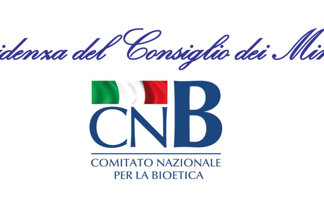 Comitato Nazionale Bioetica 11-10-2013 La salute dentro le mura